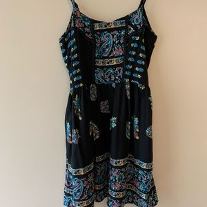 Band of Gypsies BoHo style dress sz L
